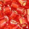 Red Silver Lined Seedbead 8oz 11-0