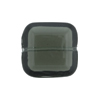 Venetian Bead Square Cut 19mm Transparent Gray