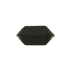 Venetian Bead Bicone Cut 18x10mm Black