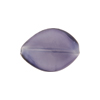 Purple Velvet Colors Caramella Twist 20x14mm, Venetian Glass Bead