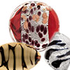 Animal Print Murano Glass Beads