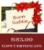 Christmas Gift Certificate $25