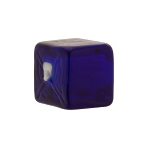 Cube Incalmo 15mm White Heart Cobalt