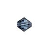 Swarovski 5328 XILION Faceted Bicone, 5mm, Montana Sapphire
