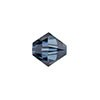 Swarovski 5328 XILION Faceted Bicone, 6mm, Montana Sapphire