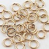 14/20 Gold Filled Locking Jump Ring, 6mm, Per Piece