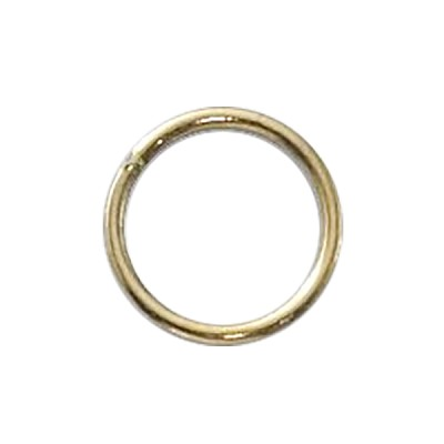 "Gold Filled Jump Ring Open .039""/8MM 18 GA Per Piece"