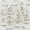 Silver Filled Locking Jump Ring, 10mm, 14ga