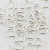 Silver Filled Locking Jump Ring, 18ga, 6mm