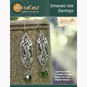 TierraCast Emerald Isle Earrings Kit