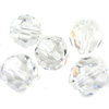 Swarovski 5000 6mm Faceted Round, Crystal