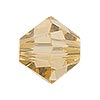Swarovski 5328 8mm Faceted Bicone, Light Colorado Topaz