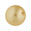 Swarovski 5810 Crystal Pearl 8mm, Gold, Per Bead