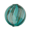 Verde Marino Blown Penny Double Layer AV 20mm