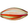Multi Aventurina Venetian Blown Oval