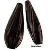 Black Blown Teardrop Double Layer AV 40x18
