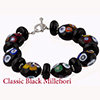 Black Multi Mosaic Disc Bracelet Kit