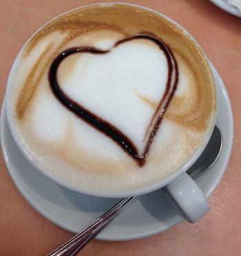 How a cappuccino should look