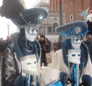 Enjoy the pagentry of Carnival in Venice