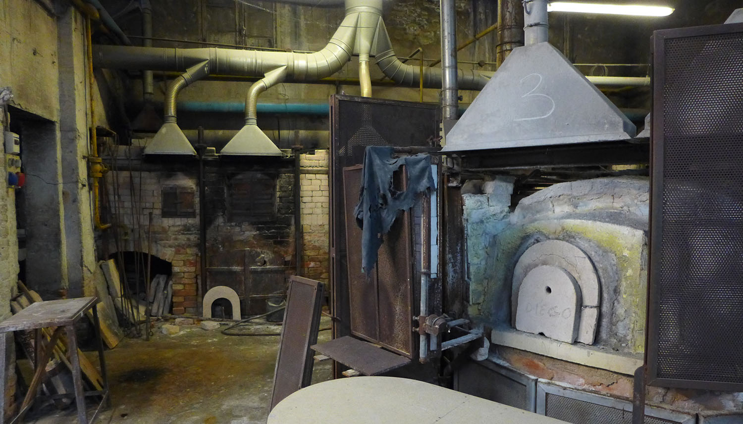 Closed Murano Glass Furnace