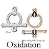 Antique Your Stampings - How to Oxidize Metals