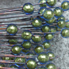 Making round Murano Glass Beads