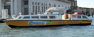 Take Alilaguna to Venice from the Airport