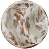 Venetian Bead Caramella Disc 28mm Steel Swirls and Aventurina