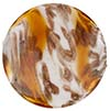 Venetian Bead Caramella Disc 32mm Topaz Swirls and Aventurina