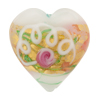 Wedding Cake Heart 28mm White