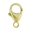 Premium Italian Brass Trigger Clasp, Natural Finish, 13mm