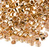 14/20 Gold Filled Crimp Tube, 2mm x 1mm, Per Piece