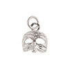 Puccinella Sterling Silver Mask Charm