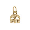 Puccinella Vermeil Mask Charm