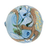 Celeste Bed of Roses Disc 25mm Venetian Glass Bead