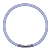 4mm Rubber Tube Bracelet 7.5 Inches, Lilac