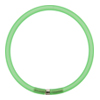 4mm Rubber Tube Bracelet 7.5 Inches, Green