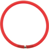4mm Rubber Tube Necklace 17 Inches, Red