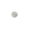 Gray Millefiori Round 8mm Lace, Murano Glass Bead