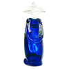 Murano Glass Asian Statue in Cobalt Blue by Barbaro