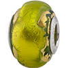 Peridot Exterior Gold Foil Sole Sterling Insert