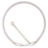 PERLAVITA Sterling Bracelet, 7.5 Inch with 2 Inch Extension