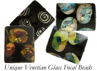 VanGogh Artistic Lampwork Focal Beads