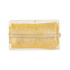 Clear 24kt Gold Foil Rectangle 25x15mm Murano Glass Bead
