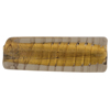 Gray Gold Foil Murano Glass Rectangle 32mm