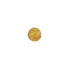 Gaggia (Amber) 6mm Gold Foil Round Venetian Glass Bead