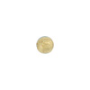 Aquamarine 6mm Gold Foil Round Murano Glass Bead