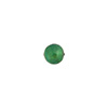 Verde Marino 6mm Gold Foil Round Venetian Glass Bead