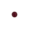 Red (Ruby) 6mm Gold Foil Round Venetian Glass Bead