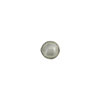 Light Steel Gray Silver Foil 6mm Round Venetian Glass Bead
